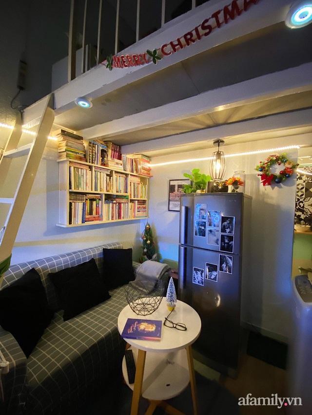 Phòng đi thuê 9m² lột xác với góc nào cũng chill như homestay ở Sài Gòn - Ảnh 23.