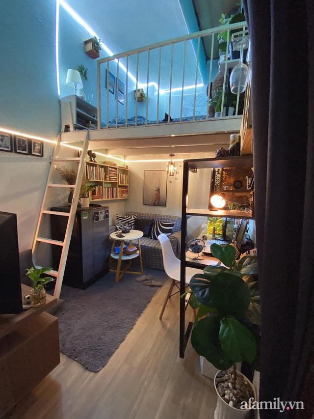 Phòng đi thuê 9m² lột xác với góc nào cũng chill như homestay ở Sài Gòn - Ảnh 4.