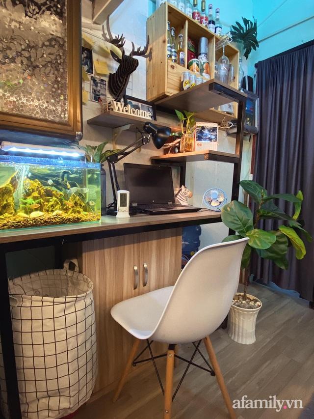 Phòng đi thuê 9m² lột xác với góc nào cũng chill như homestay ở Sài Gòn - Ảnh 6.