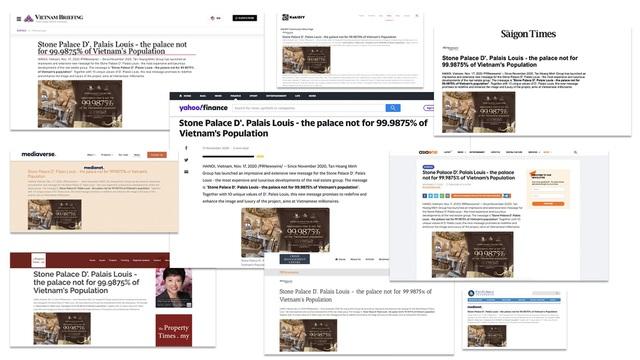 Không đếm xuể những lời khen báo chí nước ngoài dành cho cung điện đá D. Palais Louis - Ảnh 1.