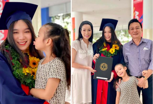Á hậu Trịnh Kim Chi hạnh phúc giản đơn bên chồng doanh nhân và hai cô con gái thông minh, xinh đẹp - Ảnh 6.