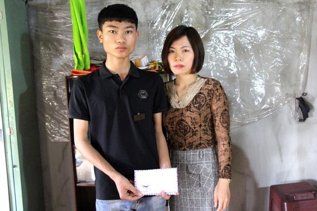 Tình người lan tỏa đến với nam sinh lớp 9 ở Hải Dương có mẹ qua đời vì bệnh ung thư - Ảnh 8.