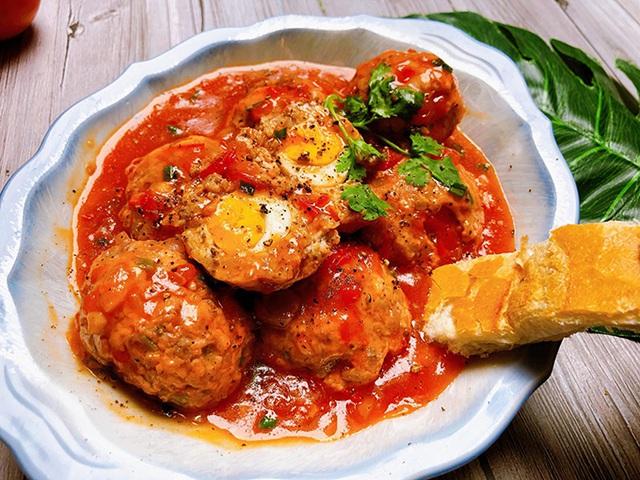 Mách các mẹ cách làm xíu mại gà trứng cút - Ảnh 3.