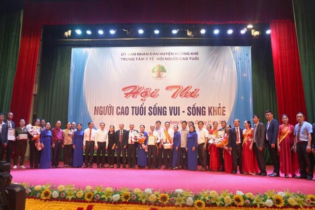 Hương Khê, Hà Tĩnh: Hội thi Người cao tuổi sống vui - sống khỏe năm 2020 - Ảnh 5.