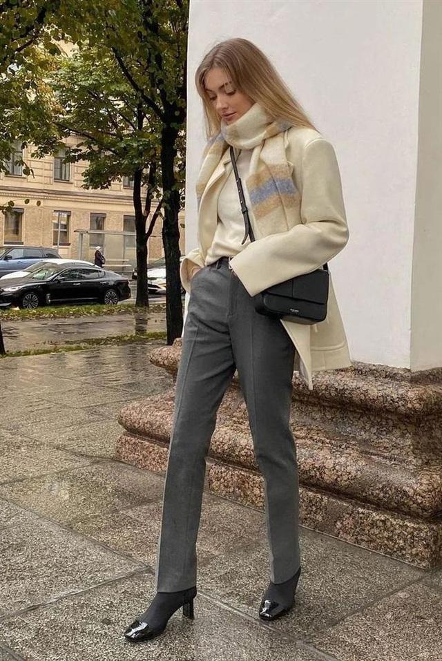 Áo len mà diện cùng 4 kiểu quần này thì hoàn hảo, ai cũng phải khen sao bạn mặc đẹp thế - Ảnh 11.
