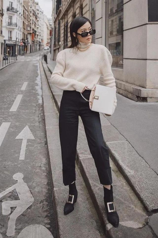 Áo len mà diện cùng 4 kiểu quần này thì hoàn hảo, ai cũng phải khen sao bạn mặc đẹp thế - Ảnh 5.