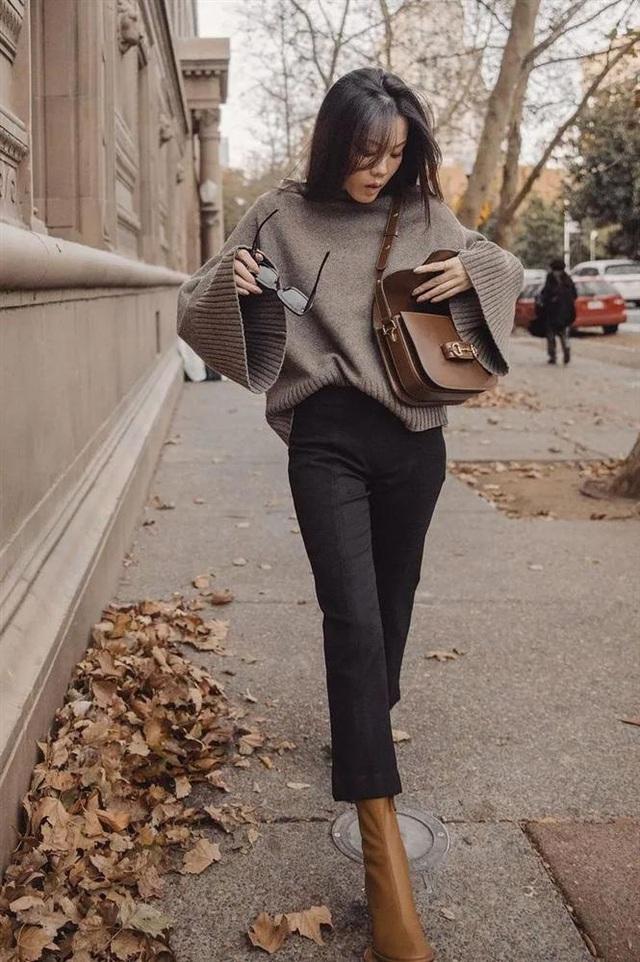 Áo len mà diện cùng 4 kiểu quần này thì hoàn hảo, ai cũng phải khen sao bạn mặc đẹp thế - Ảnh 6.