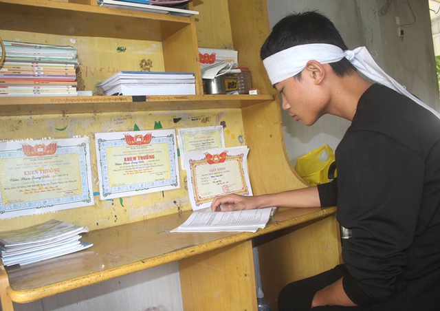 Mẹ mắc bệnh ung thư qua đời, nam sinh lớp 9 ở Hải Dương đứng trước nguy cơ phải nghỉ học - Ảnh 7.