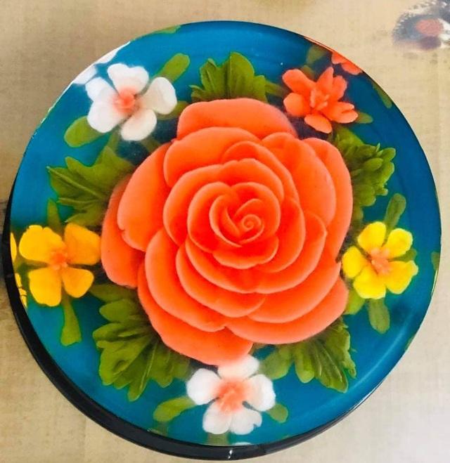 Ăn bánh thạch 3D hoa hồng cho ngày lễ Tình nhân năm nay - Ảnh 14.