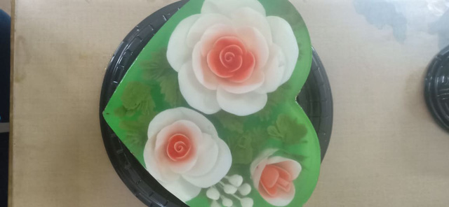 Ăn bánh thạch 3D hoa hồng cho ngày lễ Tình nhân năm nay - Ảnh 12.