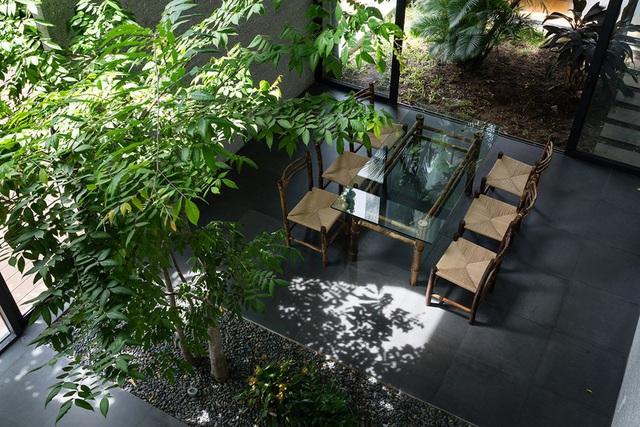 Nhà có nhiều ban công độc đáo, cây xanh mọc tua tủa khắp nơi - Ảnh 5.