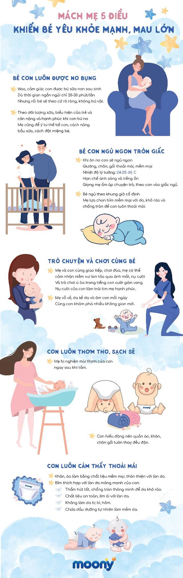 Mách mẹ 5 điều khiến bé yêu khỏe mạnh, mau lớn - Ảnh 1.