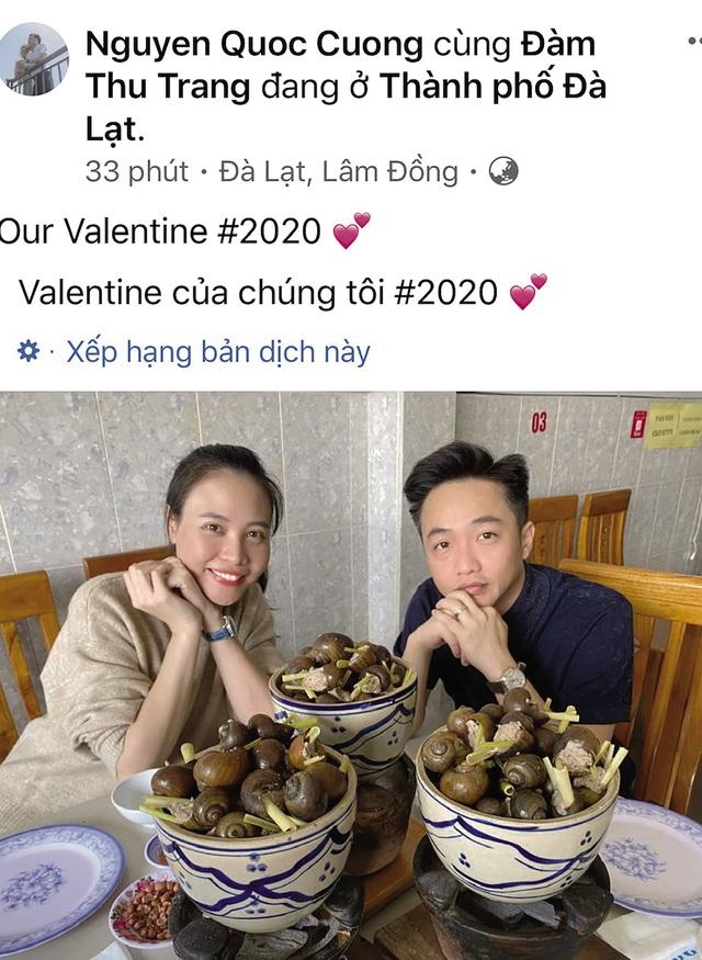 Valentine của sao Việt: Từ kim cương, xế sang đến đơn giản là một bữa ốc vỉa hè - Ảnh 1.