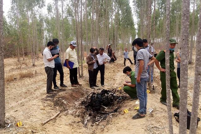 Bé trai 10 tuổi bị sát hại, nghi thủ phạm tự thiêu ở Bình Thuận - Ảnh 2.