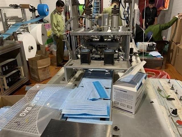 Hải Phòng: Phát hiện xưởng sản xuất khẩu trang y tế trái phép - Ảnh 3.