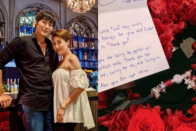 Sao Việt đón Valentine bên người yêu, gia đình - Ảnh 10.