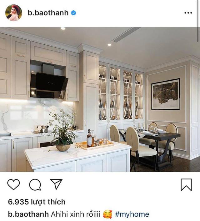 Bảo Thanh khoe góc bếp trong nhà mới chứng tỏ thu nhập không phải dạng vừa đâu - Ảnh 4.