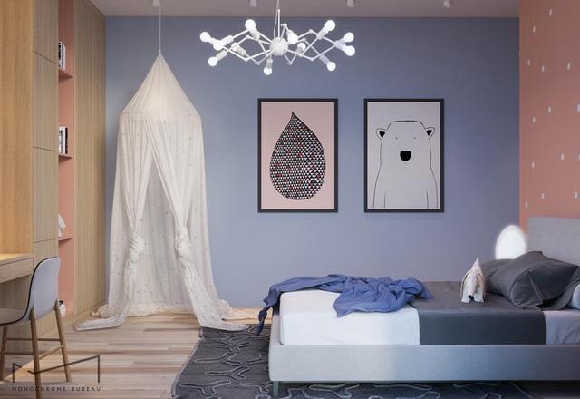 Phòng ngủ sáng tạo khiến cả bé và bố mẹ đều mê - Ảnh 2.