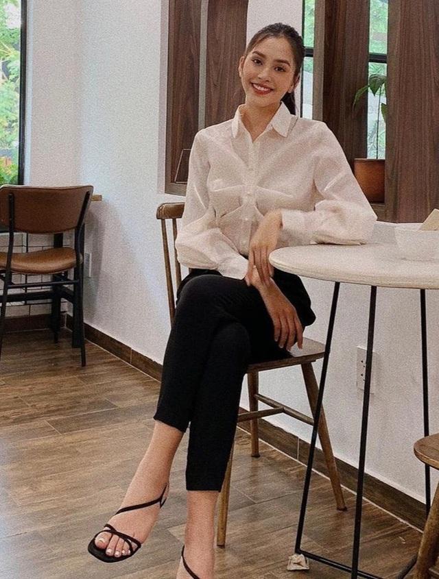 Đời thường giản dị của Hoa hậu Tiểu Vy - Ảnh 4.