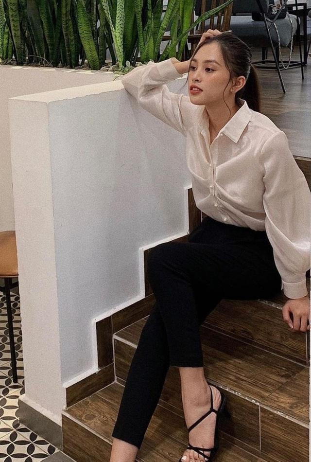 Đời thường giản dị của Hoa hậu Tiểu Vy - Ảnh 5.