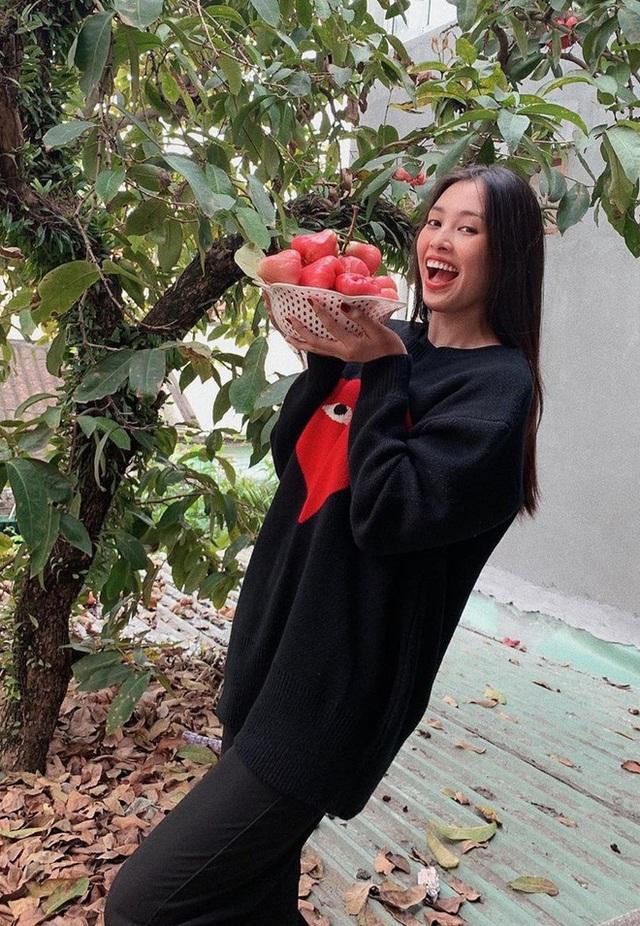 Đời thường giản dị của Hoa hậu Tiểu Vy - Ảnh 6.