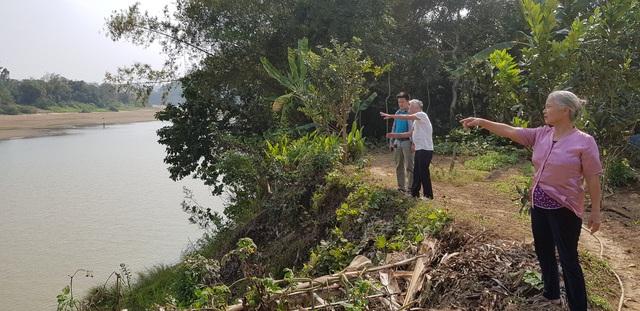 """Huyện Cẩm Thủy, Thanh Hóa: Nỗi lo sông """"nuốt đất, nuốt nhà"""" trước mùa mưa bão - Ảnh 2."""