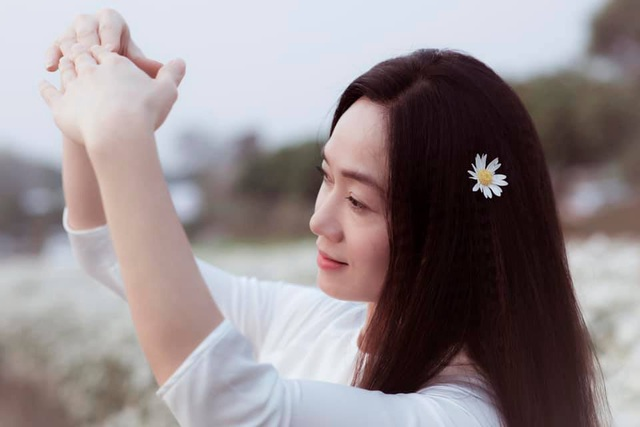 Nhan sắc Quách Thu Phương sau nhiều năm vắng bóng phim truyền hình - Ảnh 6.