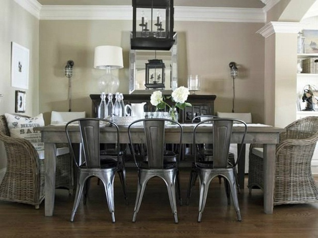 Những ý tưởng tạo vẻ đẹp thời thượng cho phòng ăn bằng bí quyết kết hợp nội thất - Ảnh 11.