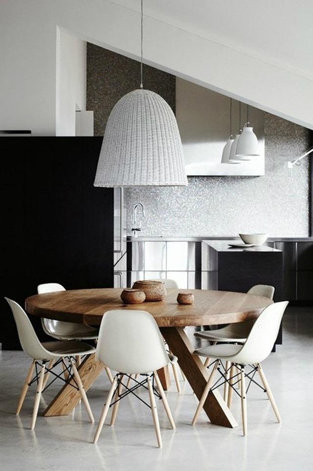 Những ý tưởng tạo vẻ đẹp thời thượng cho phòng ăn bằng bí quyết kết hợp nội thất - Ảnh 13.