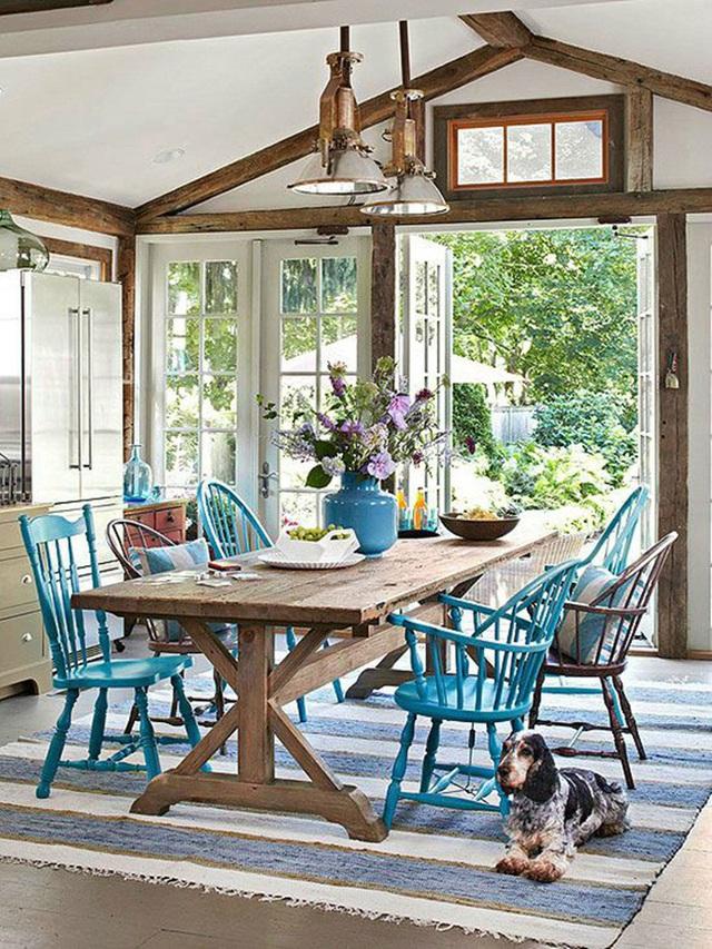 Những ý tưởng tạo vẻ đẹp thời thượng cho phòng ăn bằng bí quyết kết hợp nội thất - Ảnh 15.