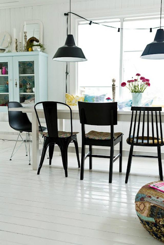 Những ý tưởng tạo vẻ đẹp thời thượng cho phòng ăn bằng bí quyết kết hợp nội thất - Ảnh 8.