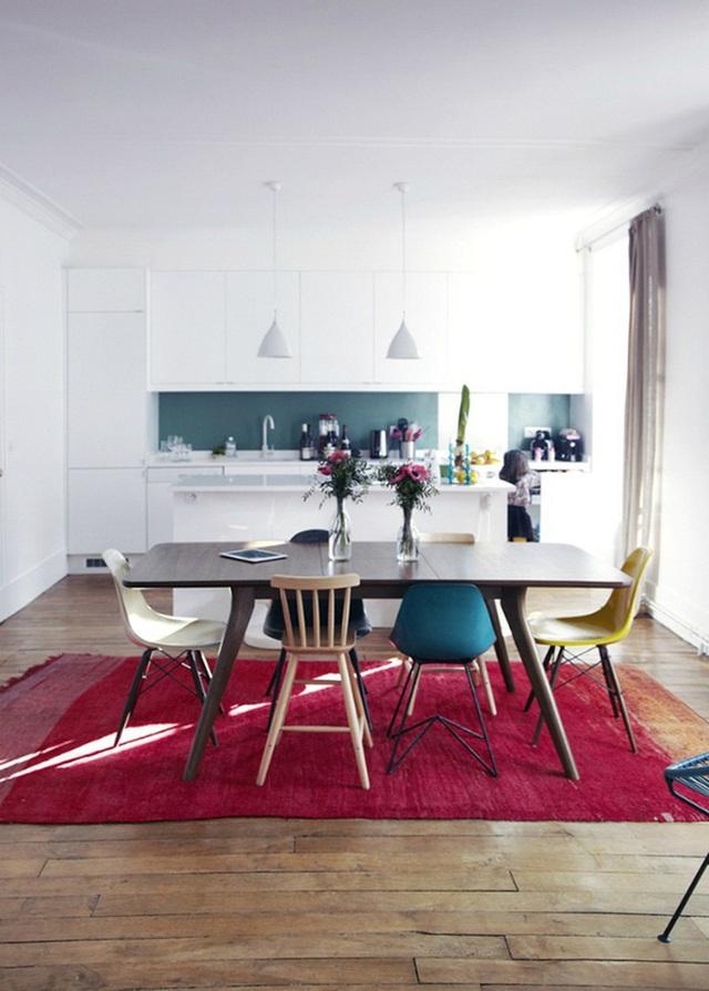 Những ý tưởng tạo vẻ đẹp thời thượng cho phòng ăn bằng bí quyết kết hợp nội thất - Ảnh 9.