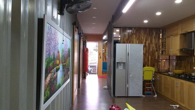 Chiêm ngưỡng ngôi nhà làm từ hai thùng container giữa thành phố Hà Tĩnh - Ảnh 3.