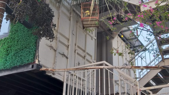 Chiêm ngưỡng ngôi nhà làm từ hai thùng container giữa thành phố Hà Tĩnh - Ảnh 7.