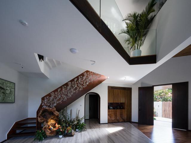 Ngôi nhà hình ruộng bậc thang phủ đầy cây xanh - Ảnh 3.