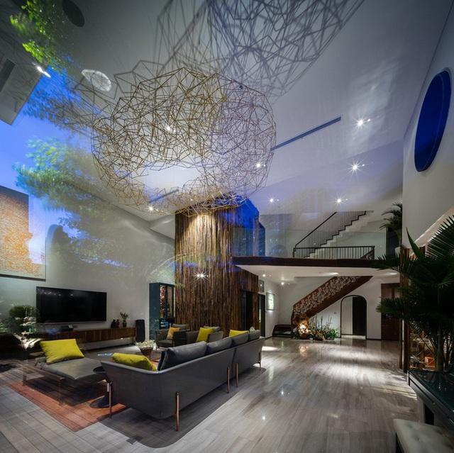 Ngôi nhà hình ruộng bậc thang phủ đầy cây xanh - Ảnh 4.