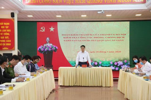 Chủ tịch Hà Nội: 20 ca COVID-19 là xác suất khoa học, không phải con số vu vơ - Ảnh 2.