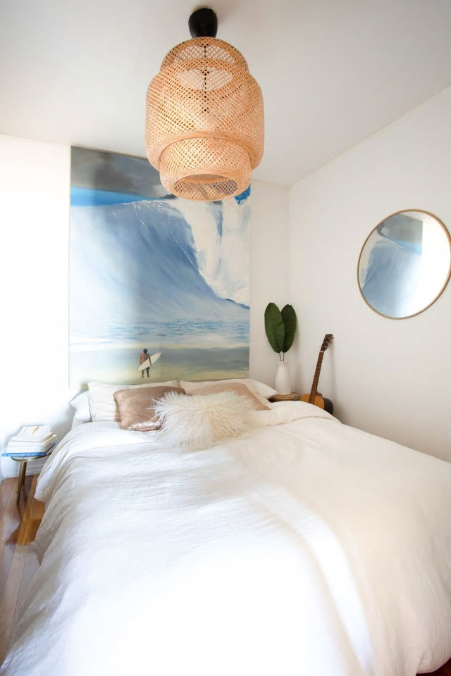 Căn hộ 37m² sử dụng những màu sắc đáng kinh ngạc trong trang trí nội thất - Ảnh 5.