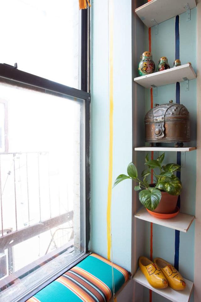 Căn hộ 37m² sử dụng những màu sắc đáng kinh ngạc trong trang trí nội thất - Ảnh 10.