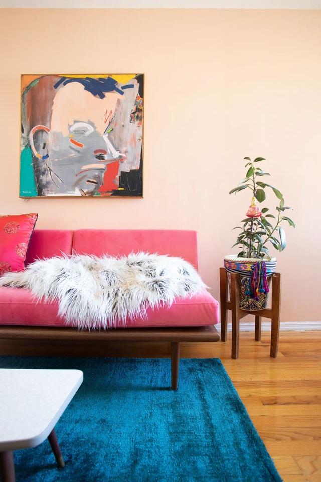 Căn hộ 37m² sử dụng những màu sắc đáng kinh ngạc trong trang trí nội thất - Ảnh 11.