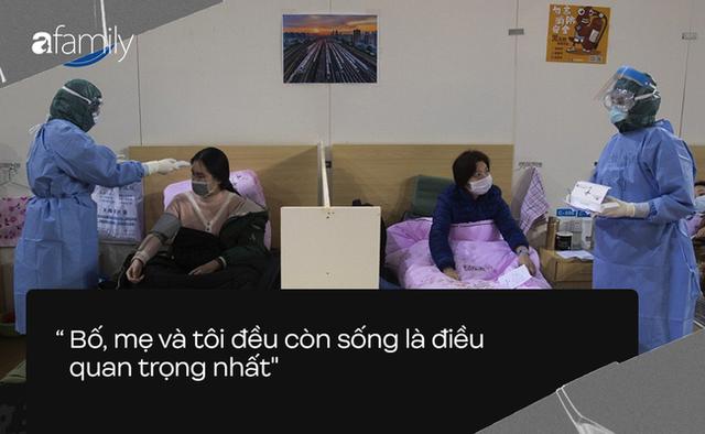 """Câu nói của người dân Vũ Hán sau COVID-19: """"Bố mẹ và tôi đều còn sống là điều quan trọng nhất"""" - Ảnh 1."""
