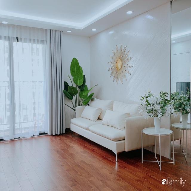 Căn hộ 90m² như được nhân đôi không gian nhờ cách decor khéo léo với sắc trắng ở Hà Nội - Ảnh 5.
