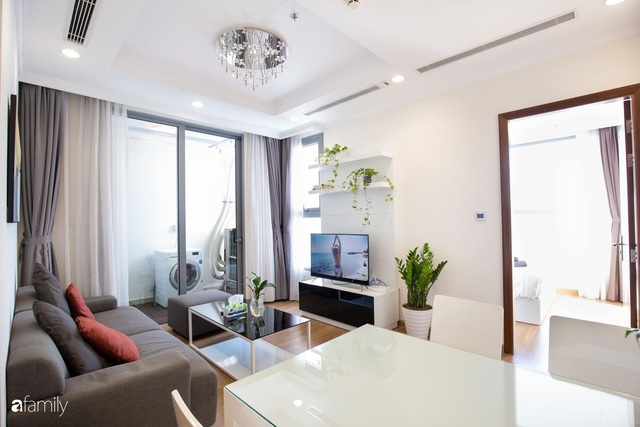 Căn hộ 64m² đầy lôi cuốn nhờ cách lựa chọn đồ đạc thông minh và view ngắm hoàng hôn ở Hà Nội - Ảnh 4.