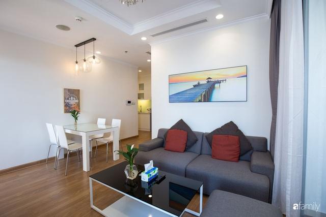 Căn hộ 64m² đầy lôi cuốn nhờ cách lựa chọn đồ đạc thông minh và view ngắm hoàng hôn ở Hà Nội - Ảnh 7.
