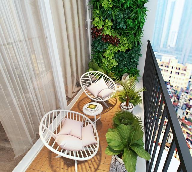 Tư vấn thiết kế căn hộ chung cư có diện tích 45m² với chi phí 128 triệu đồng - Ảnh 9.