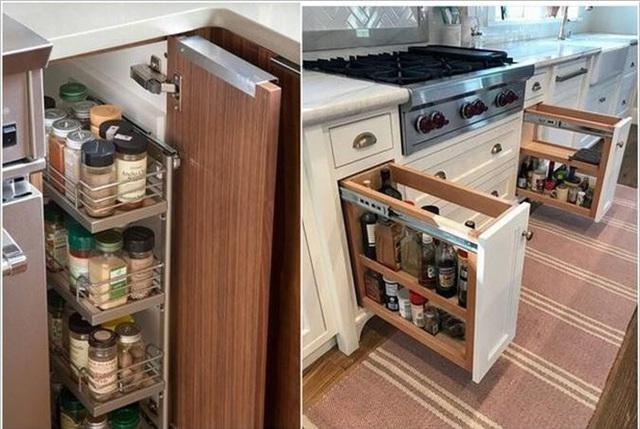 Bạn sẽ tiếc nếu bỏ qua 10 cách lưu trữ cực thông minh này để nhà bếp luôn gọn đẹp - Ảnh 11.