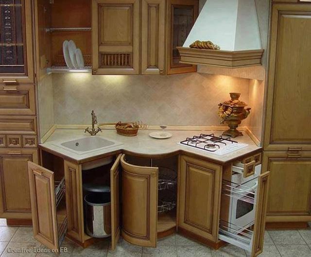 Bạn sẽ tiếc nếu bỏ qua 10 cách lưu trữ cực thông minh này để nhà bếp luôn gọn đẹp - Ảnh 3.