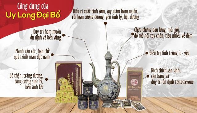 Bí mật bài thuốc Uy Long Đại Bổ giúp bổ thận tráng dương từ triều Nguyễn - Ảnh 3.