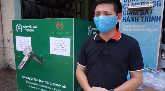 Các cây ATM gạo ở Sài Gòn... bị ế vì vắng khách - Ảnh 2.