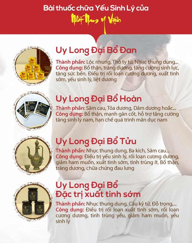 Bí mật bài thuốc Uy Long Đại Bổ giúp bổ thận tráng dương từ triều Nguyễn - Ảnh 2.